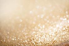 Christmas złota tła. Złotych święto świecące tło