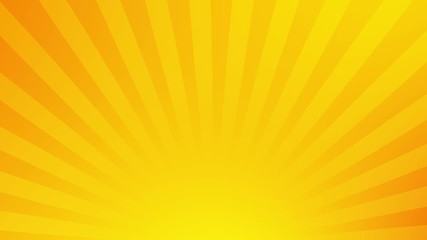 rotate stripes yellow abstract background loop