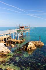 Abruzzo trabocco Punta Lupone