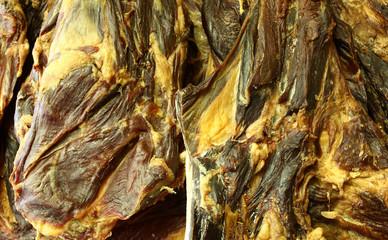 Dried lamb meat