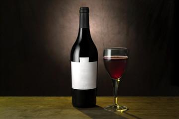 Vino nero ( composizione orizzontale )