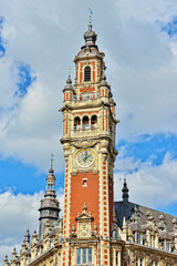 Chamber of Commerce of city Lille, France