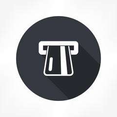 atm card slot icon