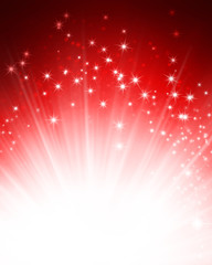 shiny red festive background