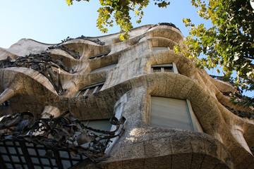 Casa mila in Barselona,Spain