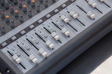 board sound mixer