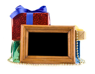 gifts and photo