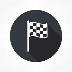 racing flag icon
