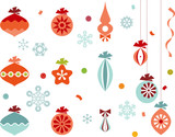 Fototapety Christmas Ornaments