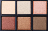 Top view of eye shadow