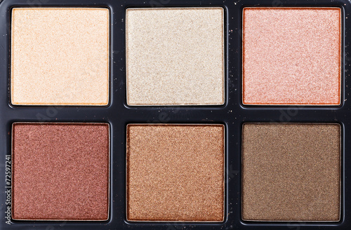 Top view of eye shadow - 72597241
