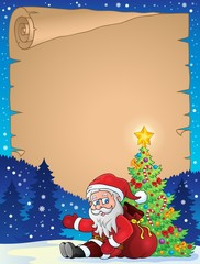 Christmas thematic parchment 8