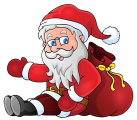 Image with Santa Claus theme 1
