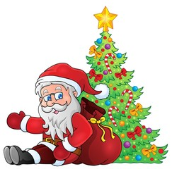 Image with Santa Claus theme 2