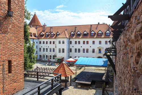The Castle of Teutonic Order in Bytow, Poland