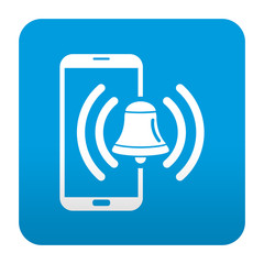 Etiqueta tipo app smartphone alarma