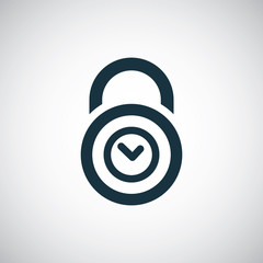 time lock icon