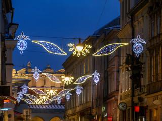 Street Christmas Illumination