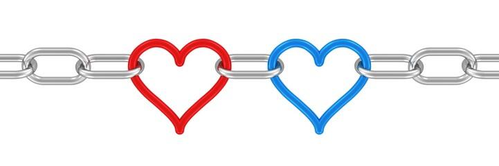 zwei starke Herzen - Liebe, Teamwork