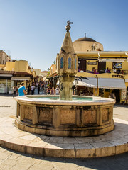 Medieval Fountain