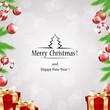 Obrazy na płótnie, fototapety, zdjęcia, fotoobrazy drukowane : Christmas frame