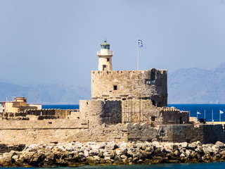 St. Nicholas Fortress in Rhodes - Greece