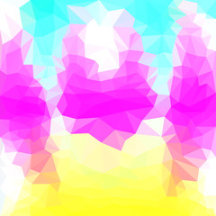 abstract polygonal triangular background for use in design