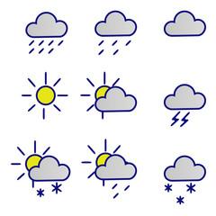 Значки-погоды(Icons-weather)