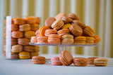 A macaron - sweet meringue-based confection poster