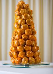 A French dessert - croquembouche