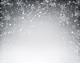 Fototapety Winter starry christmas background.