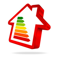 House Icon Energy Red