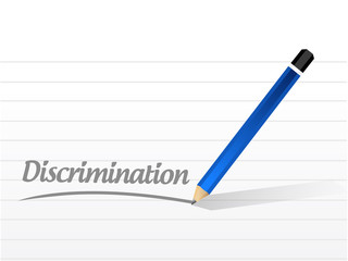 discrimination message illustration