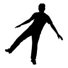 Jumping Man Pose