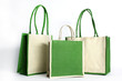 Shopping bag made out of recycled Hessian sack - 72608249
