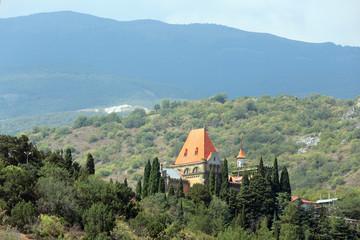 Palace of Princess Gagarina, republic Crimea