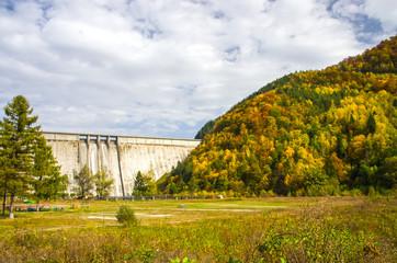 Bicaz Dam in Romania