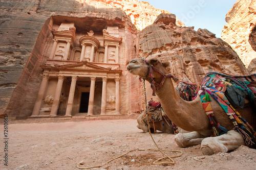 obraz PCV Petra w Jordanii