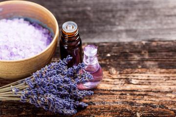 Still life with lavender