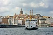 Classic ferryboat of Istanbul on the Golden Horn