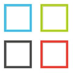 Blank image frames