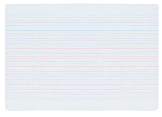 Large notebook paper