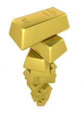 Turm Goldbarren