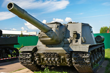 Soviet anti tank self-propelled unit SU-152