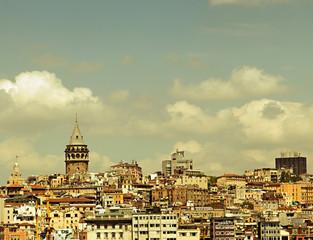 Istanbul Galata Tower, Turkey.