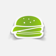 realistic design element: sandwich