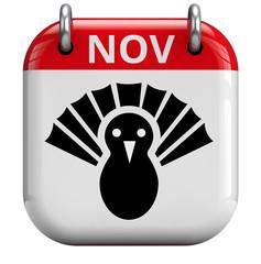Thanksgiving Turkey Day