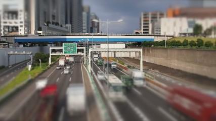 Schnellstarsse in Tokyo