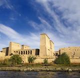 Fototapeta Philae Temple in Egypt. UNESCO World Heritage Site