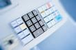 Cash register closeup buttons - 72619670
